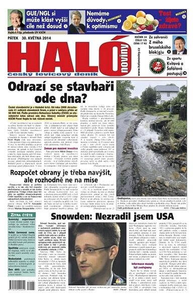 Haló noviny - 30_05_2014 - Elektronické noviny