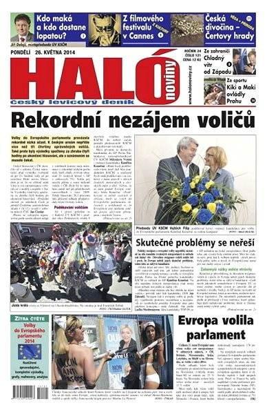 Haló noviny - 26_05_2014 - Elektronické noviny