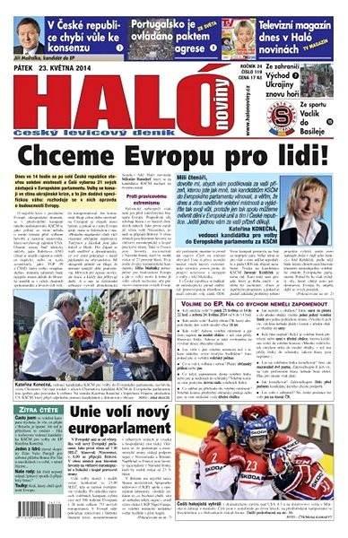 Haló noviny - 23_05_2014 - Elektronické noviny