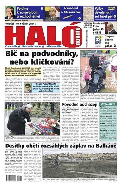 Haló noviny - 19_05_2014 - Elektronické noviny