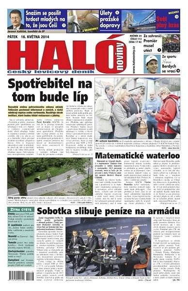 Haló noviny - 16_05_2014 - Elektronické noviny