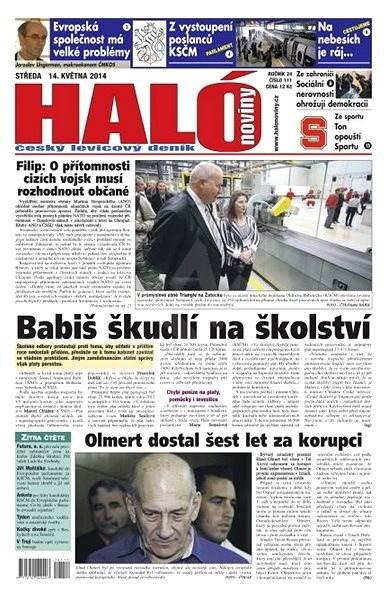 Haló noviny - 14_05_2014 - Elektronické noviny