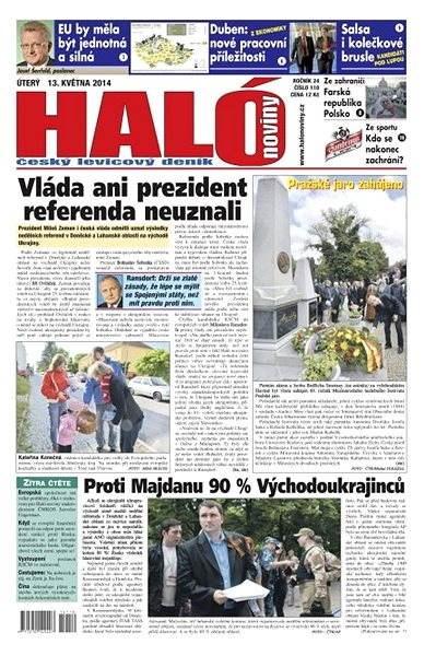 Haló noviny - 13_05_2014 - Elektronické noviny