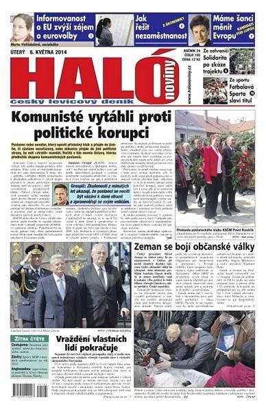 Haló noviny - 06_05_2014 - Elektronické noviny