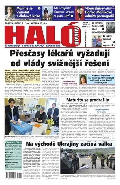Haló noviny - 03_05_2014 - Elektronické noviny