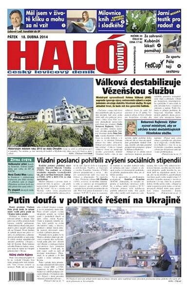 Haló noviny - 18_04_2014 - Elektronické noviny