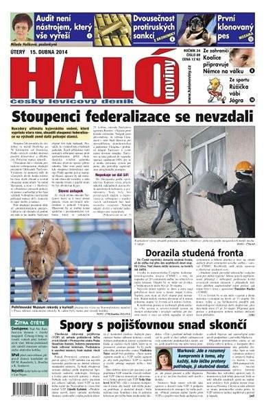 Haló noviny - 15_04_2014 - Elektronické noviny