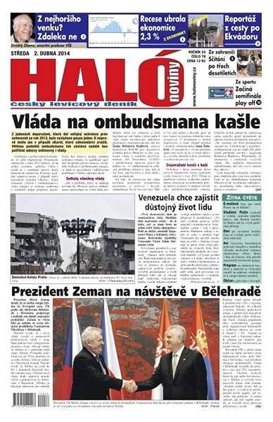 Haló noviny - 02_04_2014 - Elektronické noviny