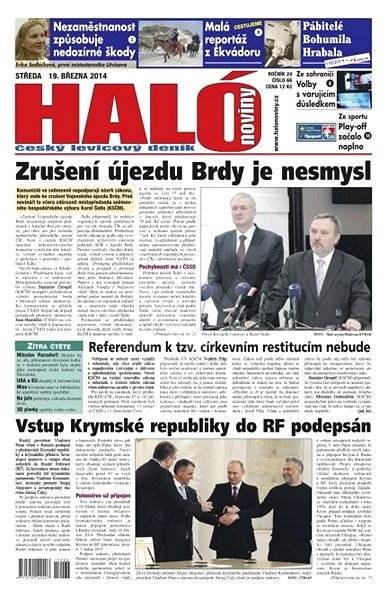 Haló noviny - 19_03_2014 - Elektronické noviny