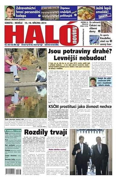 Haló noviny - 15_03_2014 - Elektronické noviny