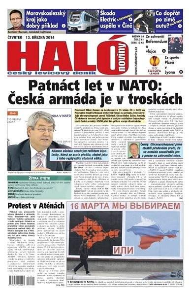 Haló noviny - 13_03_2014 - Elektronické noviny