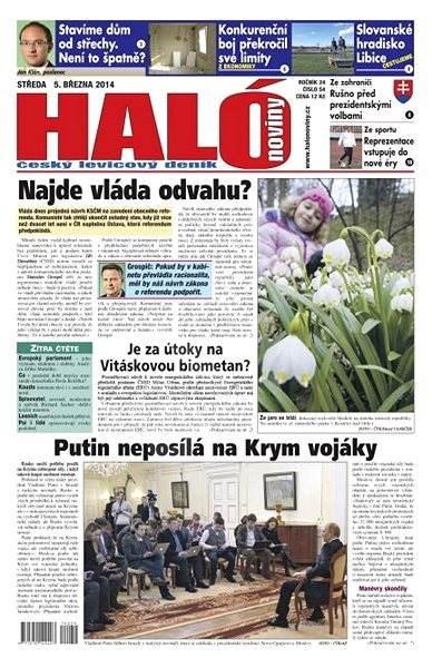 Haló noviny - 05_03_2014 - Elektronické noviny