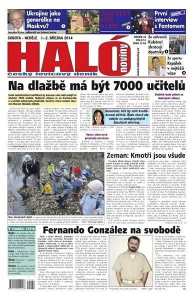 Haló noviny - 01_03_2014 - Elektronické noviny