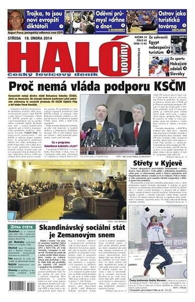 Haló noviny - 19_02_2014 - Elektronické noviny