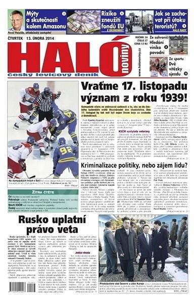 Haló noviny - 13_02_2014 - Elektronické noviny