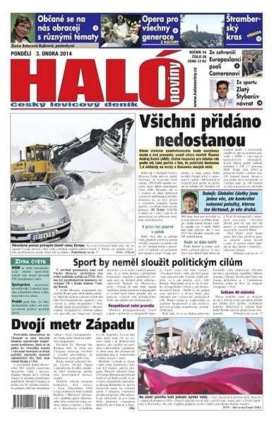 Haló noviny - 03_02_2014 - Elektronické noviny