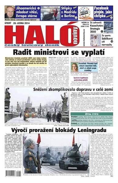 Haló noviny - 28_01_2014 - Elektronické noviny