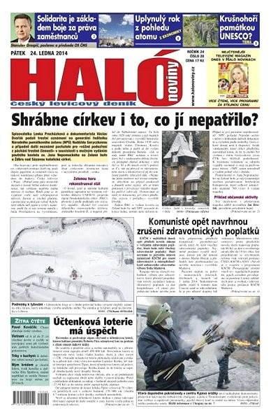 Haló noviny - 24_01_2014 - Elektronické noviny