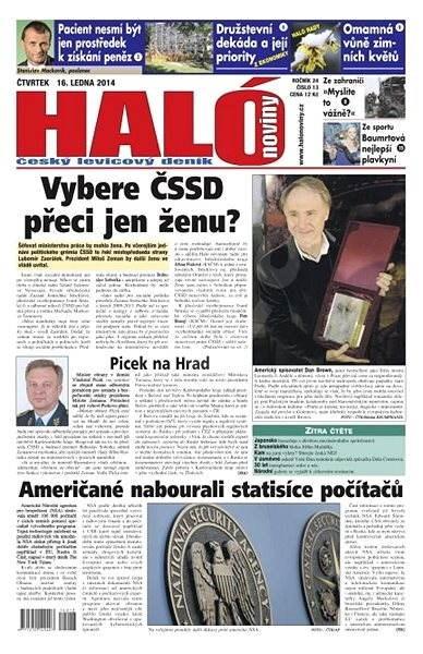 Haló noviny - 16_01_2014 - Elektronické noviny