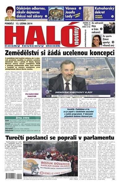 Haló noviny - 13_01_2014 - Elektronické noviny