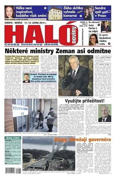 Haló noviny - 11_01_2014 - Elektronické noviny