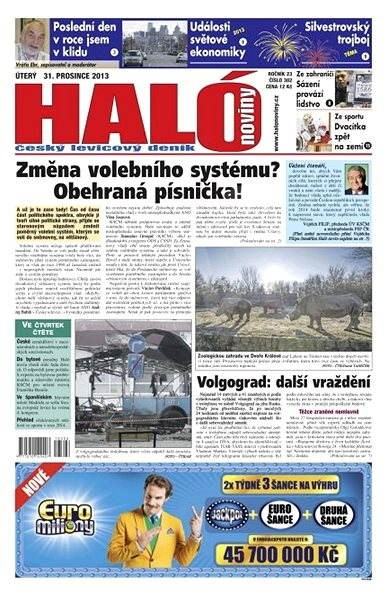 Haló noviny - 31_12_2013 - Elektronické noviny