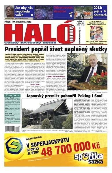 Haló noviny - 27_12_2013 - Elektronické noviny