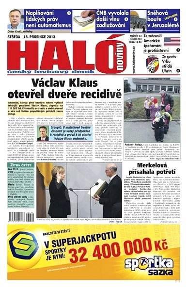 Haló noviny - 18_12_2013 - Elektronické noviny