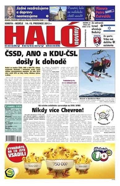 Haló noviny - 14_12_2013 - Elektronické noviny