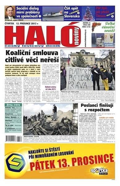 Haló noviny - 12_12_2013 - Elektronické noviny