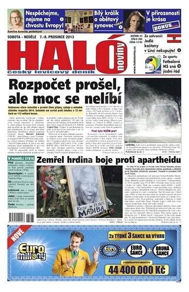 Haló noviny - 07_12_2013 - Elektronické noviny