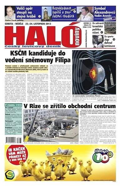 Haló noviny - 23_11_2013 - Elektronické noviny