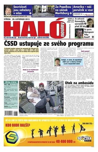 Haló noviny - 20_11_2013 - Elektronické noviny