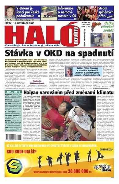 Haló noviny - 12_11_2013 - Elektronické noviny