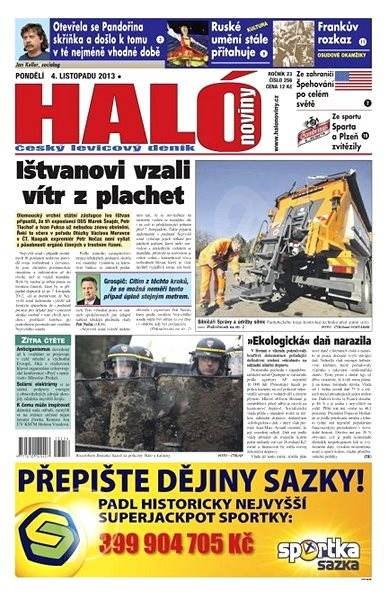Haló noviny - 04_11_2013 - Elektronické noviny
