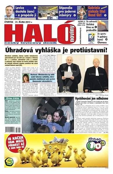 Haló noviny -  31_10_2013 - Elektronické noviny