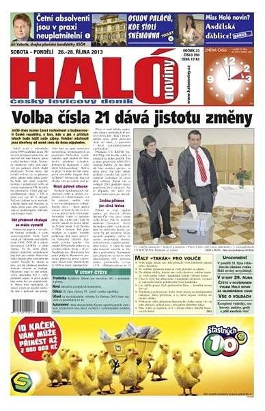 Haló noviny - 26_10_2013 - Elektronické noviny