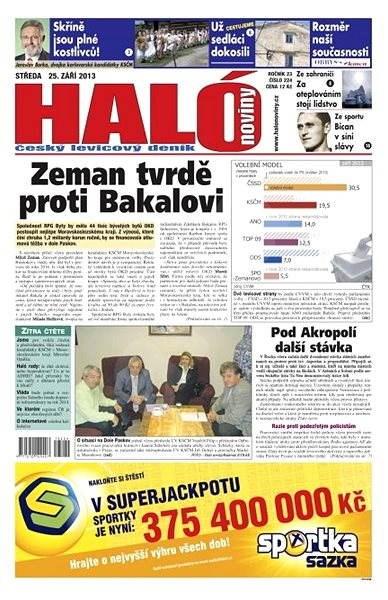 Haló noviny - 25_09_2013 - Elektronické noviny