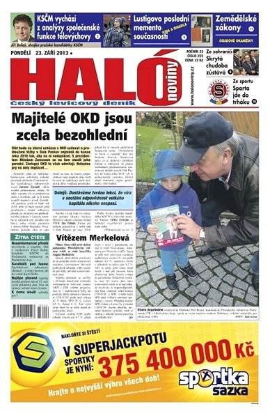 Haló noviny - 23_09_2013 - Elektronické noviny