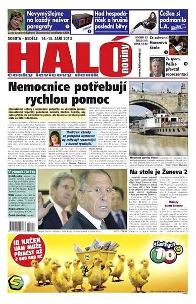 Haló noviny - 14_09_2013 - Elektronické noviny