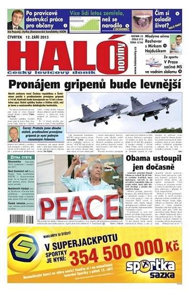 Haló noviny - 12_09_2013 - Elektronické noviny