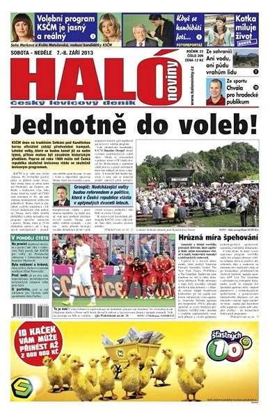 Haló noviny - 07_09_2013 - Elektronické noviny