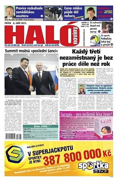 Haló noviny - 06_09_2013 - Elektronické noviny