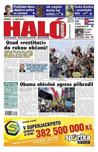 Haló noviny - 02_09_2013 - Elektronické noviny