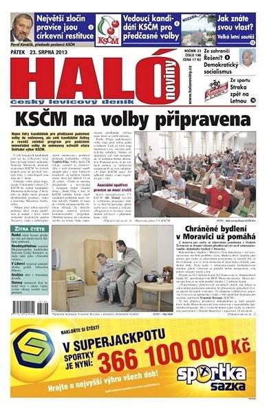Haló noviny - 23_08_2013 - Elektronické noviny