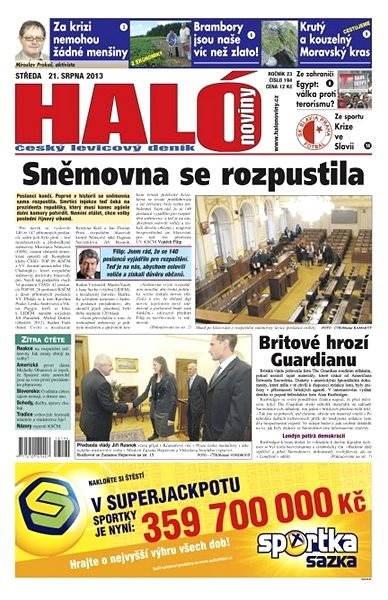 Haló noviny - 21_08_2013 - Elektronické noviny