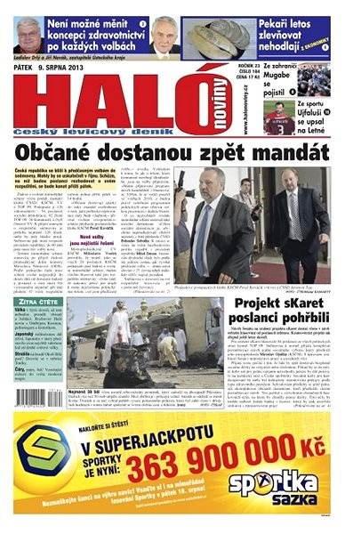 Haló noviny - 09_08_2013 - Elektronické noviny