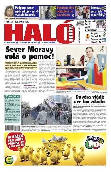 Haló noviny - 01_08_2013 - Elektronické noviny
