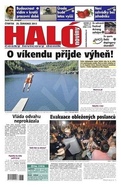 Haló noviny - 25_07_2013 - Elektronické noviny