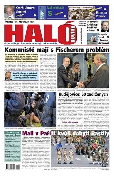 Haló noviny - 15_07_2013 - Elektronické noviny